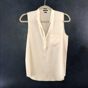 Theory white blouse